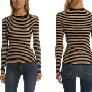 A.L.C. Harmon Wool Blend Striped Sweater